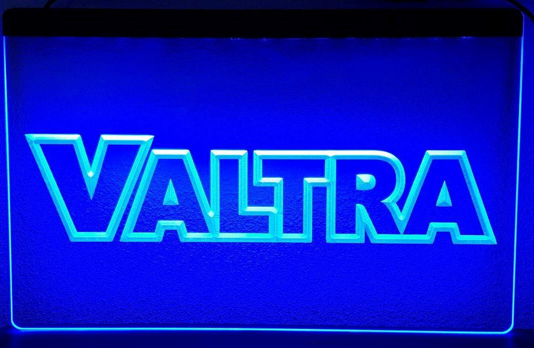 Valtra tractor 3d led verlichting americanshop for Tractor verlichting