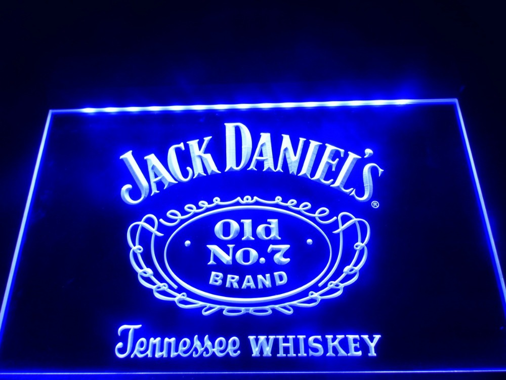 Jack Dani 203 Ls Nr 7 3d Led Logo Reclame Verlichting