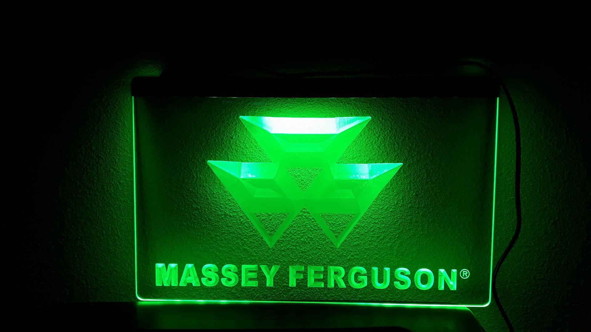 Massey ferguson landbouw machine tractor tekst onder 3d for Tractor verlichting