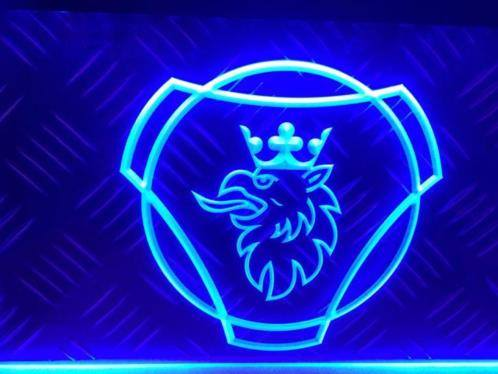 SCANIA LOGO 3D LED RECLAME VERLICHTING | Americanshop