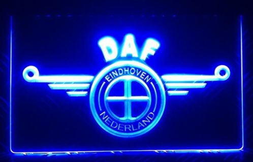 DAF EINDHOVEN 3D LED RECLAME DECORATIE VERLICHTING LOGO | Americanshop