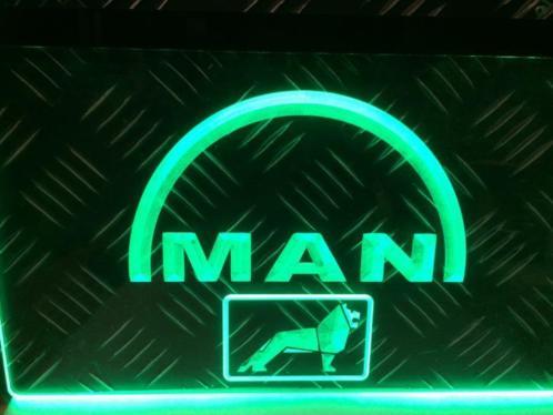 MAN TRUCK LOGO 3D LED RECLAME VERLICHTING | Americanshop