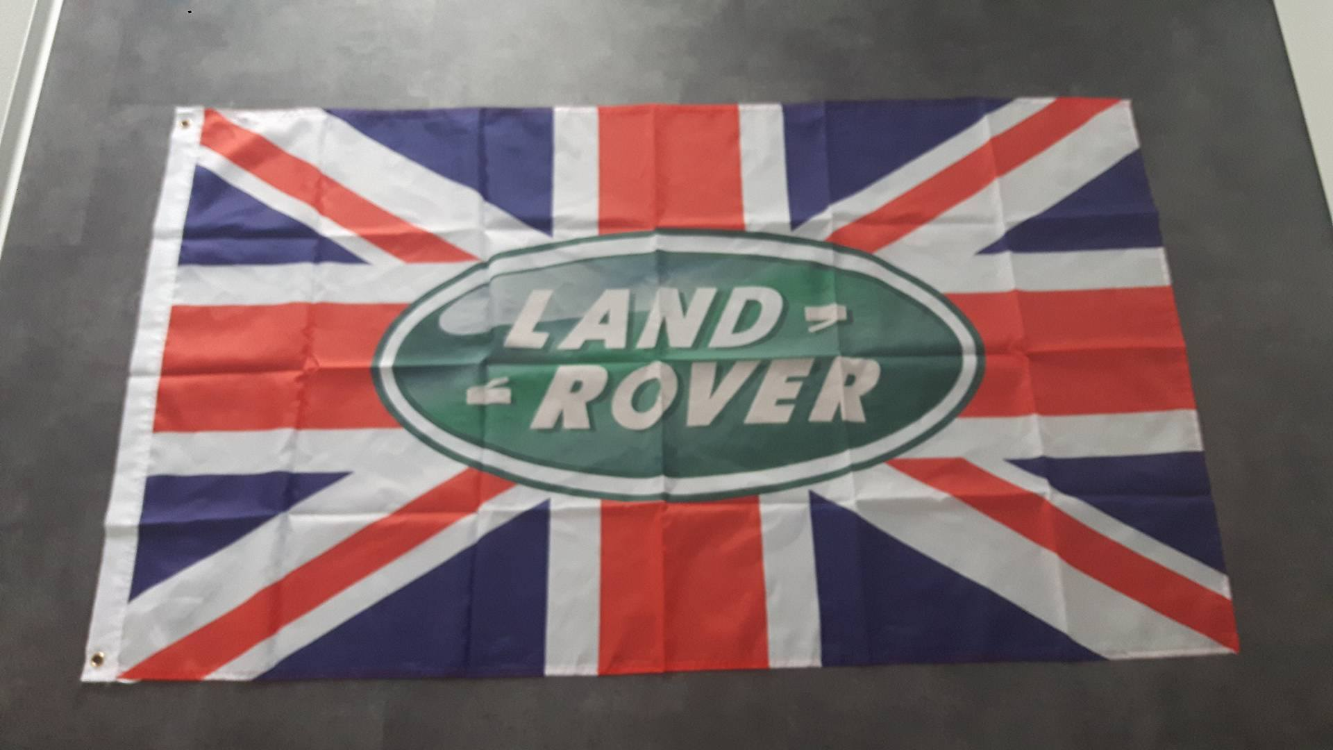 Land Rover Engelse Vlag Landrover Uk Logo Union Jack