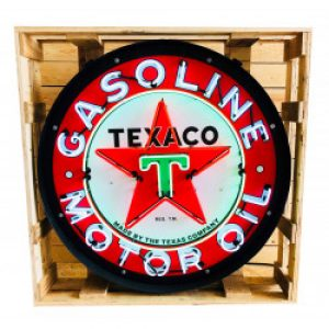 TEXACO GASOLINE MOTOR OIL NEON DECORATIE VERLICHTING